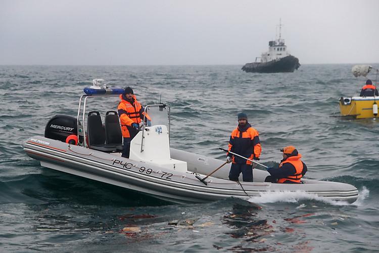 Наборту Ту-154 находились 93 человека
