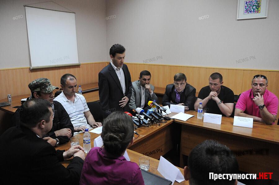 Представители николаевских майдана и