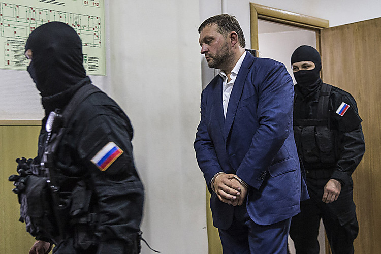 Суд арестовал Никиту Белых надва месяца