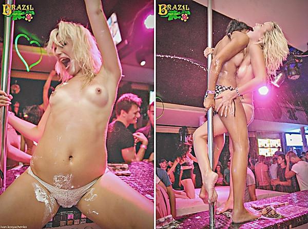 Голые выступления в ночных клубах #4
