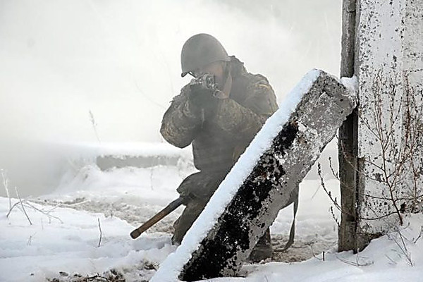В итоге обстрелов наДонбассе ранены пятеро украинских бойцов