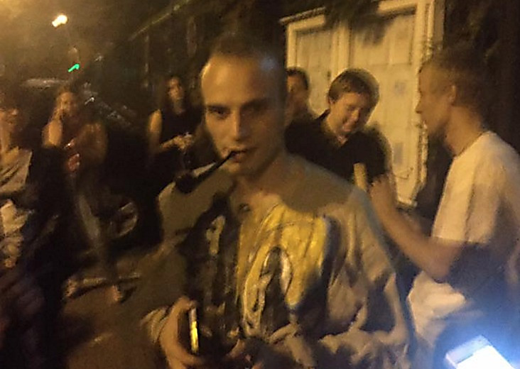 МИД РФ возмущен поджогом здания канала «Интер» вКиеве