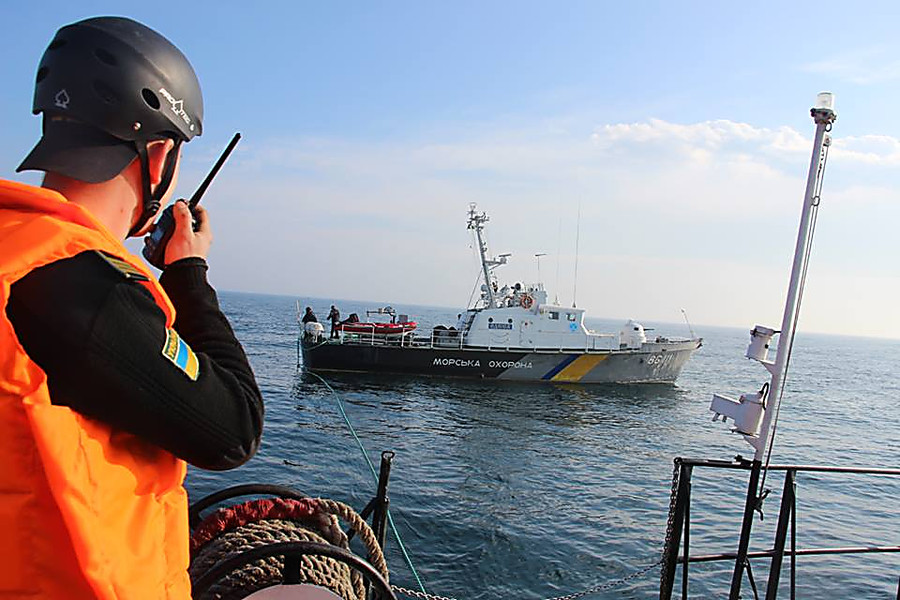 ВОдессе усиливают охрану морских рубежей