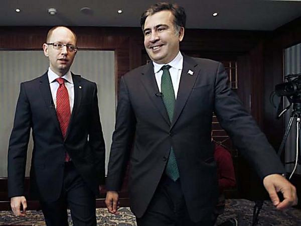 Саакашвили считает, что Яценюк исчерпал свои возможности в правительстве