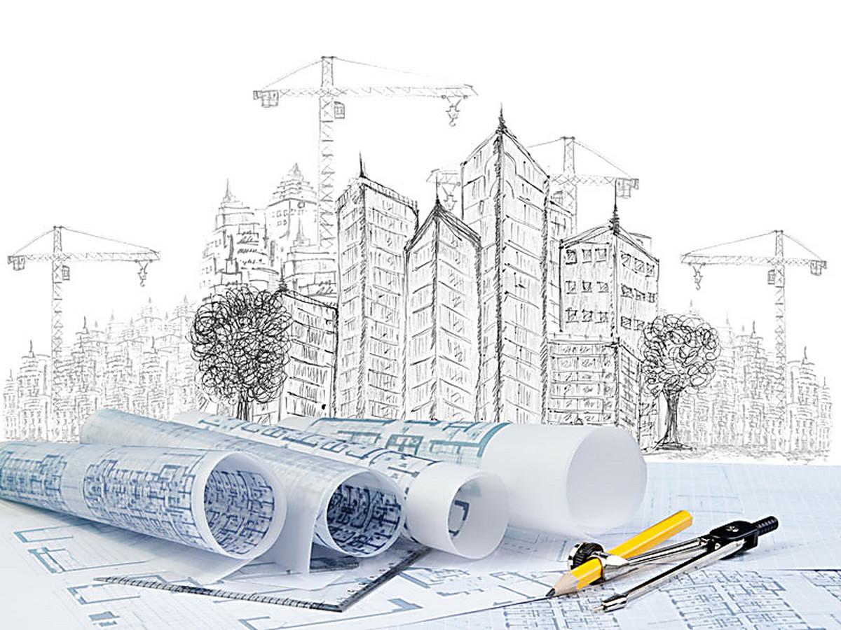 Архитектура открытка
