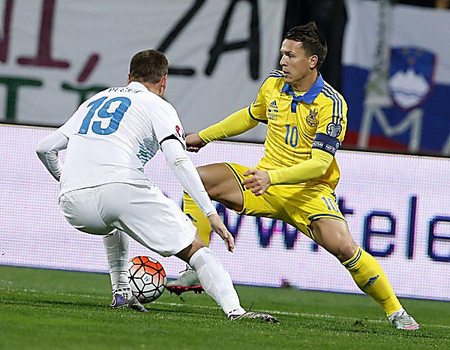 Футболистам России и Украины не дадут играть друг с другом