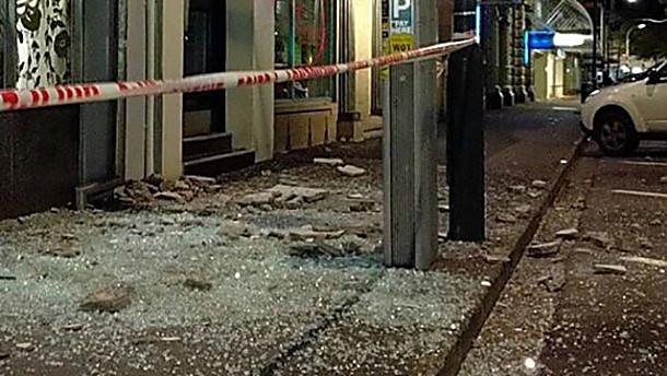 Мощное землетрясение ицунами в новейшей Зеландии