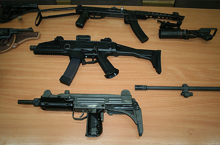 ВУкраинском государстве перекрыт крупный канал контрабанды стрелкового оружия