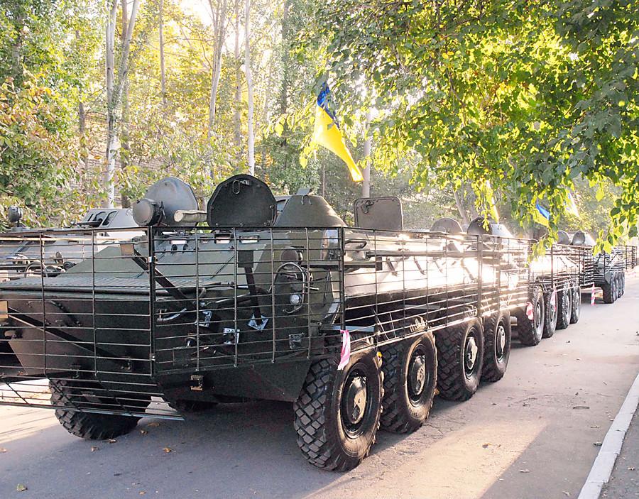 Военный экспорт Украины в предыдущем 2016г вырос на25%