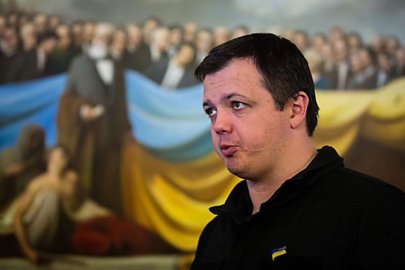 Семенченко снова лишили звания майора
