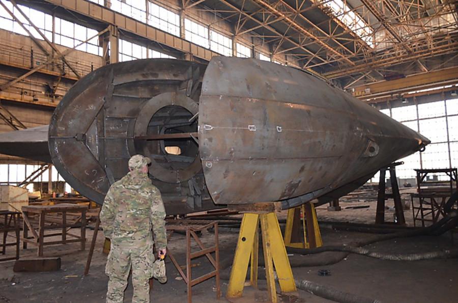 Украинцы побоялись называть корабль «Владимиром Великим» из-за ассоциаций сПутиным