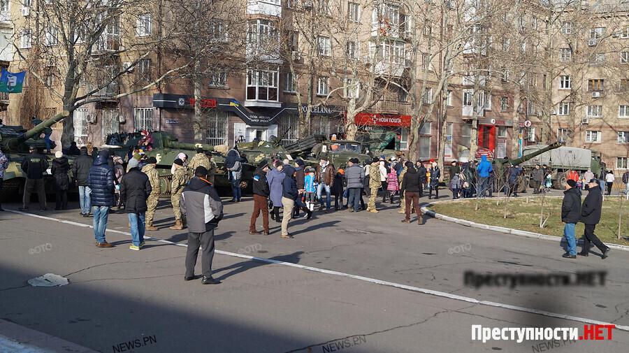 ВНиколаеве стартовало празднование интернационального Дня волонтера иВооруженных Сил Украины