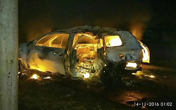 ДТП вХарькове: мужчина иженщина сгорели вавтомобиле