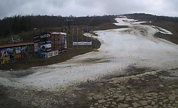Чемпионат Украины по горнолыжному спорту шокировал ужасными условиями (фото)