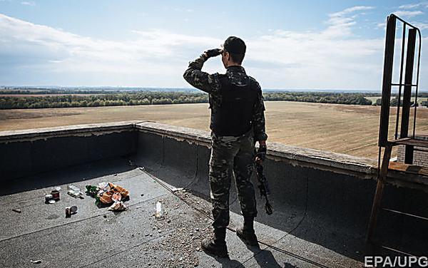 ВСтанице Луганской один военный ранен
