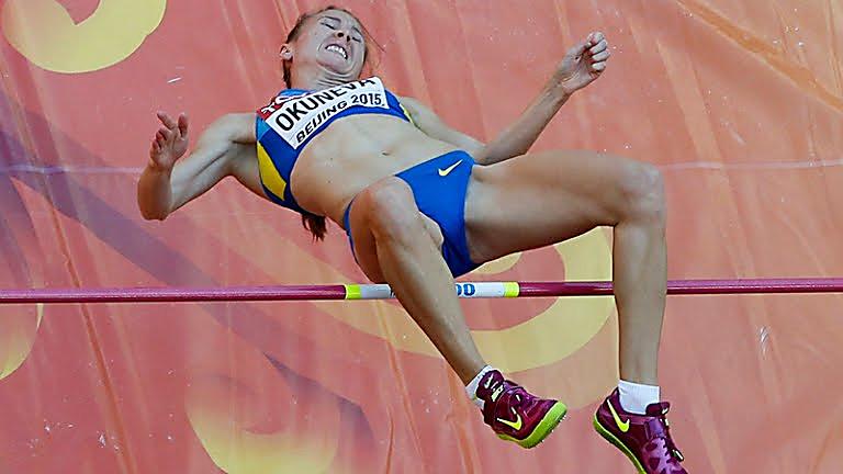И.Геращенко пробилась вфинал Олимпиады впрыжках ввысоту
