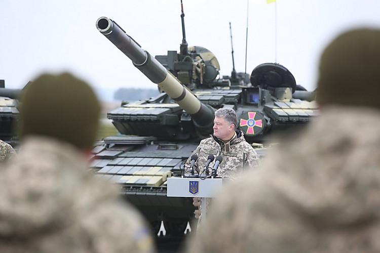 Порошенко: Украина никогда незарилась начужое, однако исвоего неотдаст