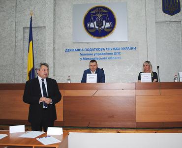 Герасимчук Е. А. избрана в заместителем руководителя общественного совета при ГУ ГНС в Николаевской области