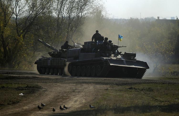 Карта АТО: ситуация на востоке Украины на 21 марта