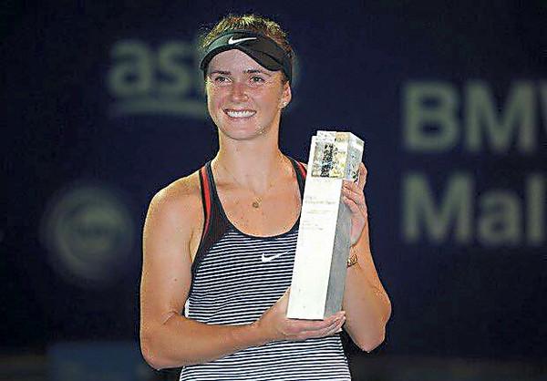 Украинская теннисистка Свитолина выиграла турнир вМалайзии