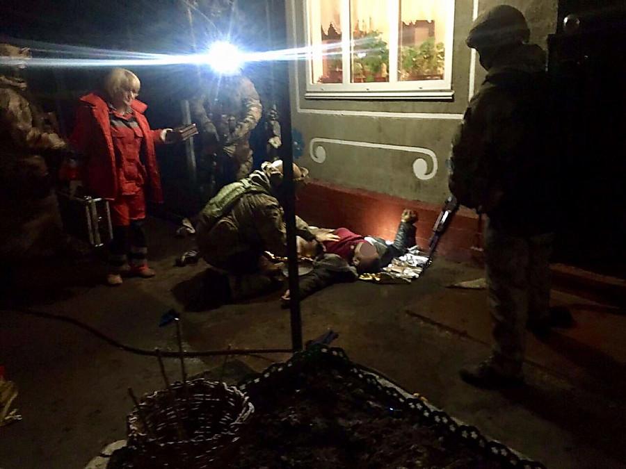ВЧеркасской области между полицией и правонарушителями произошла стрельба