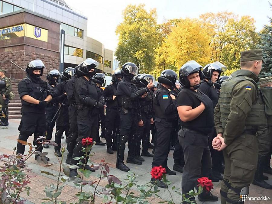 Милиция столицы Украины ищет взрывчатку взданиях Апелляционного суда