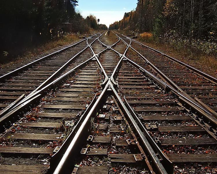ВоЛьвове столкнулись три поезда