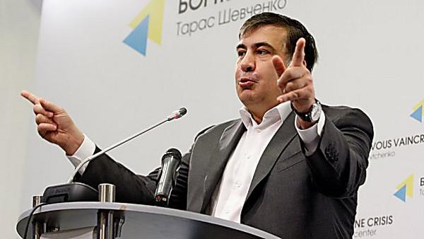 Саакашвили: решение провести «Евровидение-2017» вКиеве— «пример договорняков, лжи вглаза»