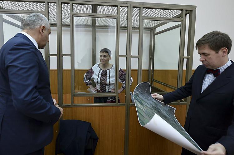 Юрист: О самочувствии Савченко ничего неизвестно