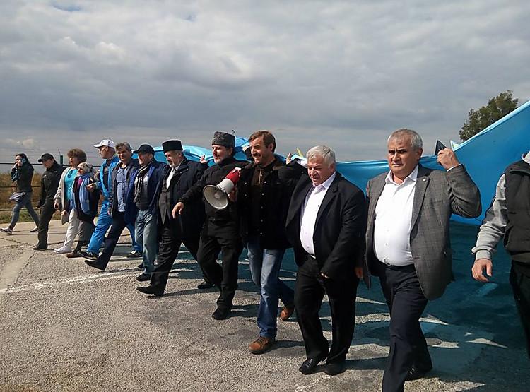 Чубаров обосвобождении Крыма: это дело времени