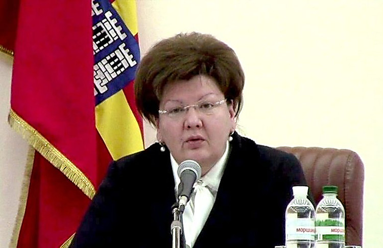 Руководитель Житомирского облсовета преждевременно ушла вотставку