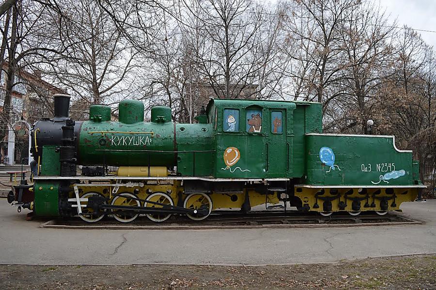 Миколаївський завод відновить паровоз з дитячого містечка