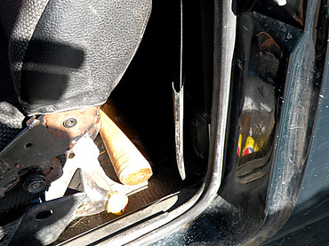 Николаевские водители возят в салонах авто дубинки и биты: «отбиваются» от собак (ФОТО), фото-1